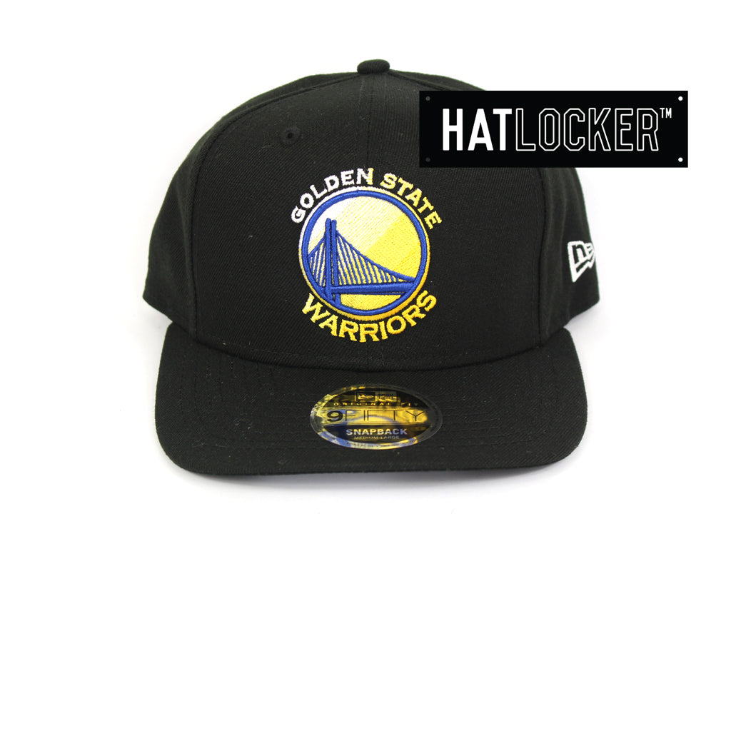 New Era Golden State Warriors Colour Dim Precurved Snapback Hat