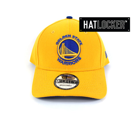New Era Golden State Warriors Team Curved Brim Cap