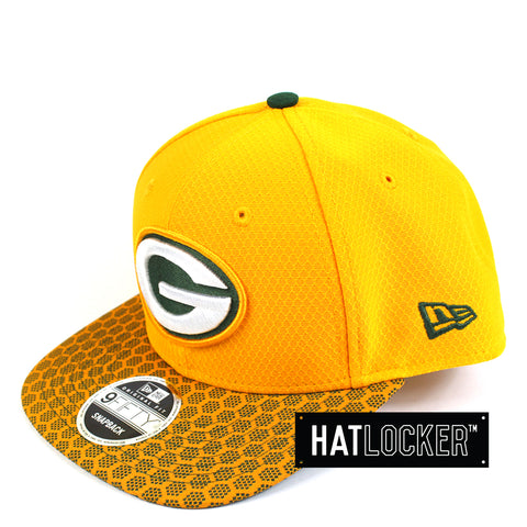 New Era - Green Bay Packers 2017 Official Sideline Snapback
