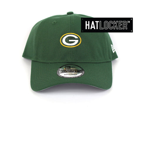 New Era Green Bay Packers Mini Logo Curved Brim Cap