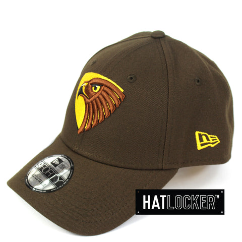 New Era Hawthorn Hawks 2019 Core Curved Brim Hat