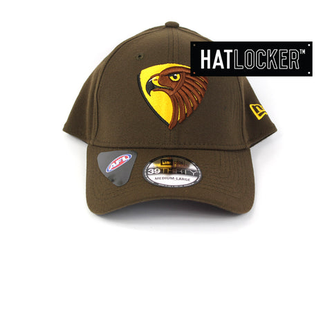 New Era Hawthorn Hawks 2019 Core Curved Stretch Fit Cap