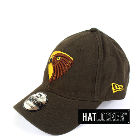 New Era - Hawthorn Hawks Washed Cotton Curved Brim