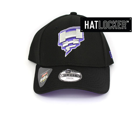 New Era Hobart Hurricanes BBL 08 Kids Curved Brim Cap