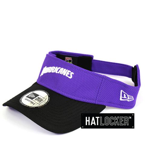 New Era Hobart Hurricanes BBL 08 Visor Hat
