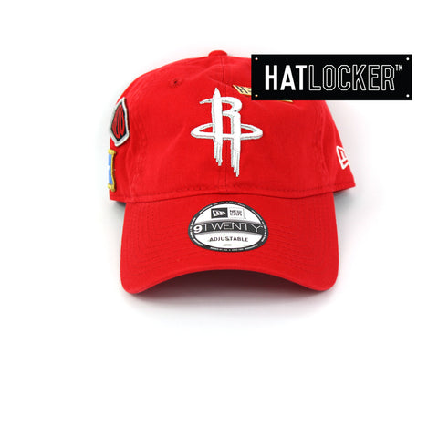 New Era Houston Rockets 2018 NBA Draft Curved Brim Cap
