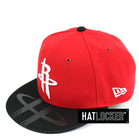 New Era Houston Rockets On-Court Emblem Collection Snapback Cap