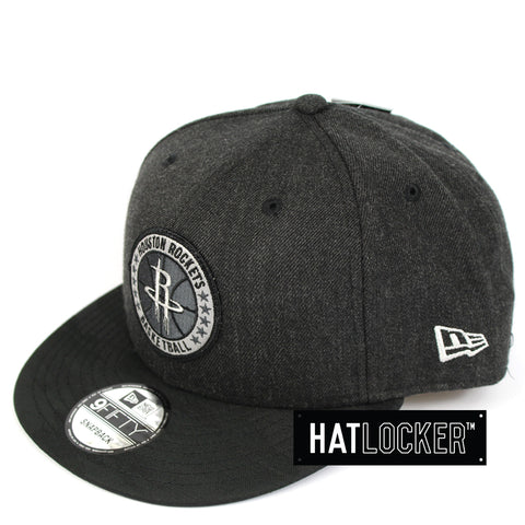 New Era Houston Rockets Tip Off Series Black Snapback Cap