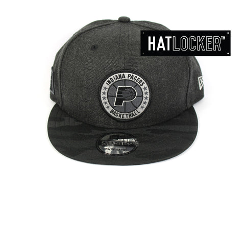 New Era Indiana Pacers Tip Off Series Black Snapback Hat