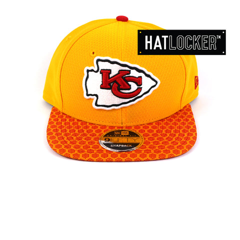 New Era - Kansas City Chiefs 2017 Official Sideline Snapback