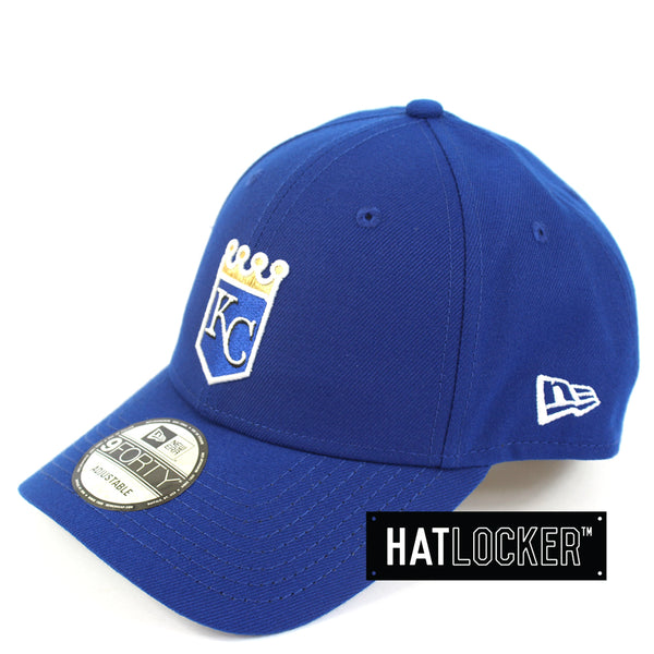New Era Kansas City Royals Team Badge Curved Snapback Hat