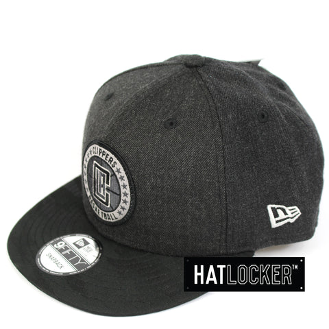 New Era LA Clippers Tip Off Series Black Snapback Hat