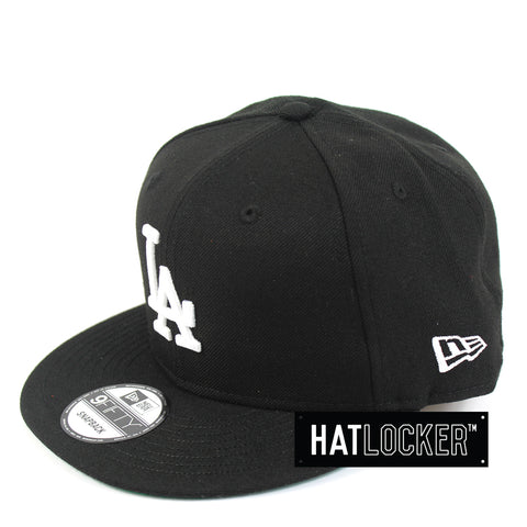 New Era LA Dodgers Black Mix Snapback Hat