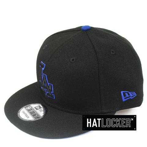 New Era - LA Dodgers Black Team Pop Snapback 485d426b93e