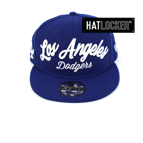 New Era - Los Angeles Dodgers City Stitcher Snapback