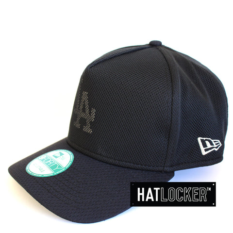 New Era LA Dodgers Cut Out Mesh Curved Brim Cap