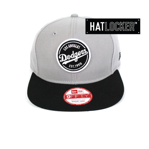 New Era - LA Dodgers Emblem Patch Snapback