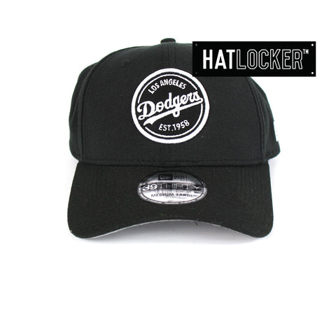 New Era - LA Dodgers Emblem Patch Curved Brim Stretch Fit