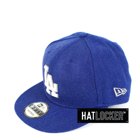 New Era - LA Dodgers Heather Crisp Snapback