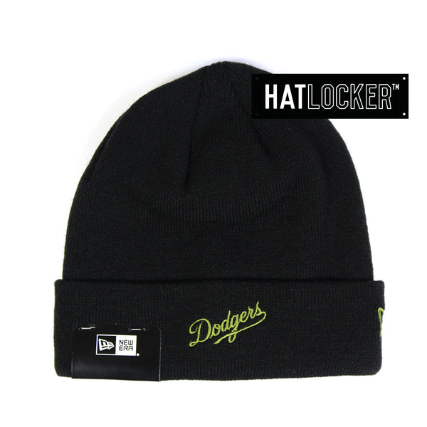 New Era - LA Dodgers Lifestyle Knit Black Beanie