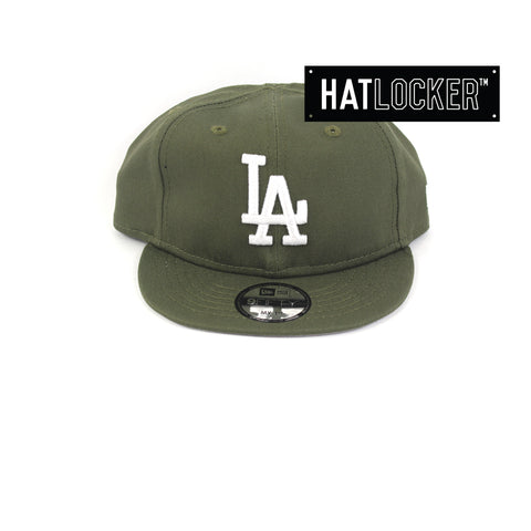 New Era LA Dodgers Olive My 1st Baseball Snapback Hat