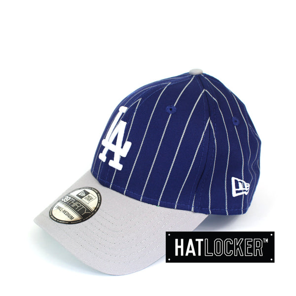 New Era - LA Dodgers Curved Brim Pinstripe Stretch Fit