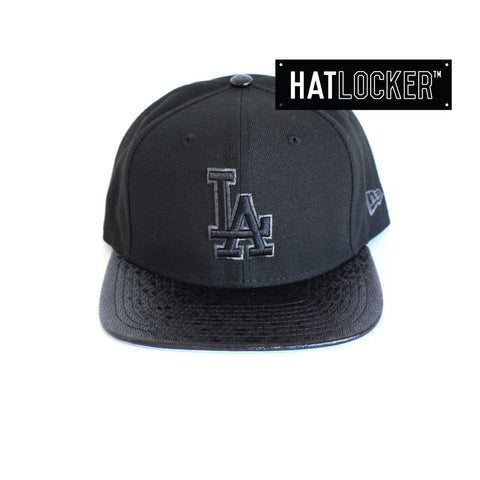 New Era - LA Dodgers Tile Vize Black Snapback