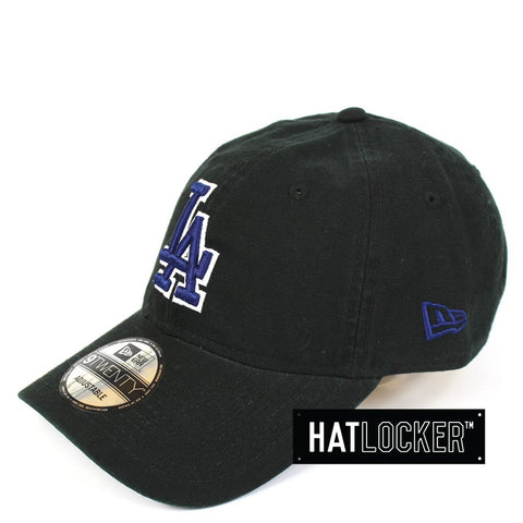 New Era LA Dodgers Washed Canvas Strapback Hat