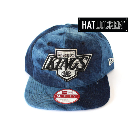 New Era - LA Kings Blue Denim Dip Snapback