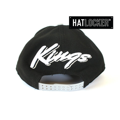 New Era - LA Kings Script Flip Snapback