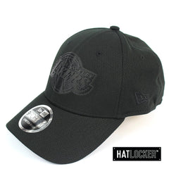 New Era LA Lakers BH Series Black On Black Stretch Snapback Cap