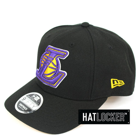New Era LA Lakers Black Lakers Fever Precurved Snapback
