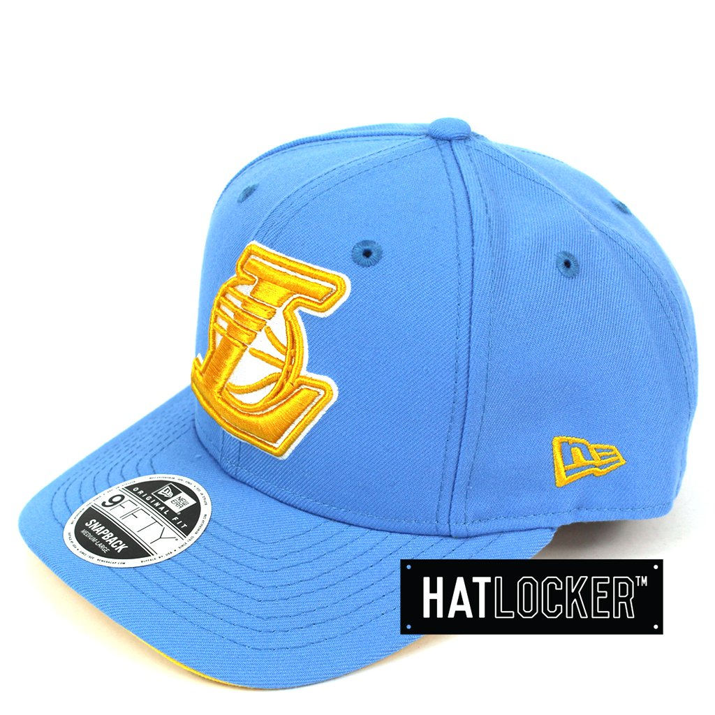 New Era LA Lakers Sky Blue Lakers Fever Precurved Snapback