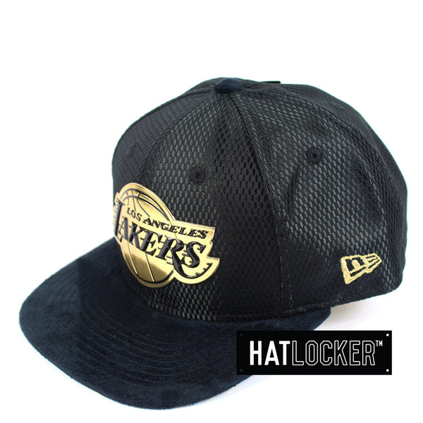 New Era - LA Lakers On-Court Black Gold Snapback