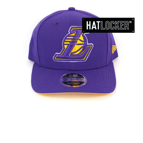 New Era LA Lakers Purple Lakers Fever Precurved Snapback