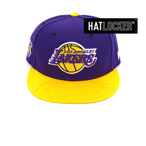 New Era LA Lakers On-Court Emblem Collection Snapback Hat