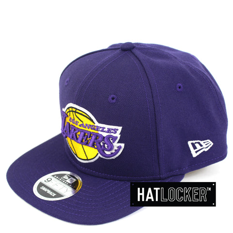 Hat Locker Australia New Era NBA LA Lakers Mix Up Snapback Hat Side