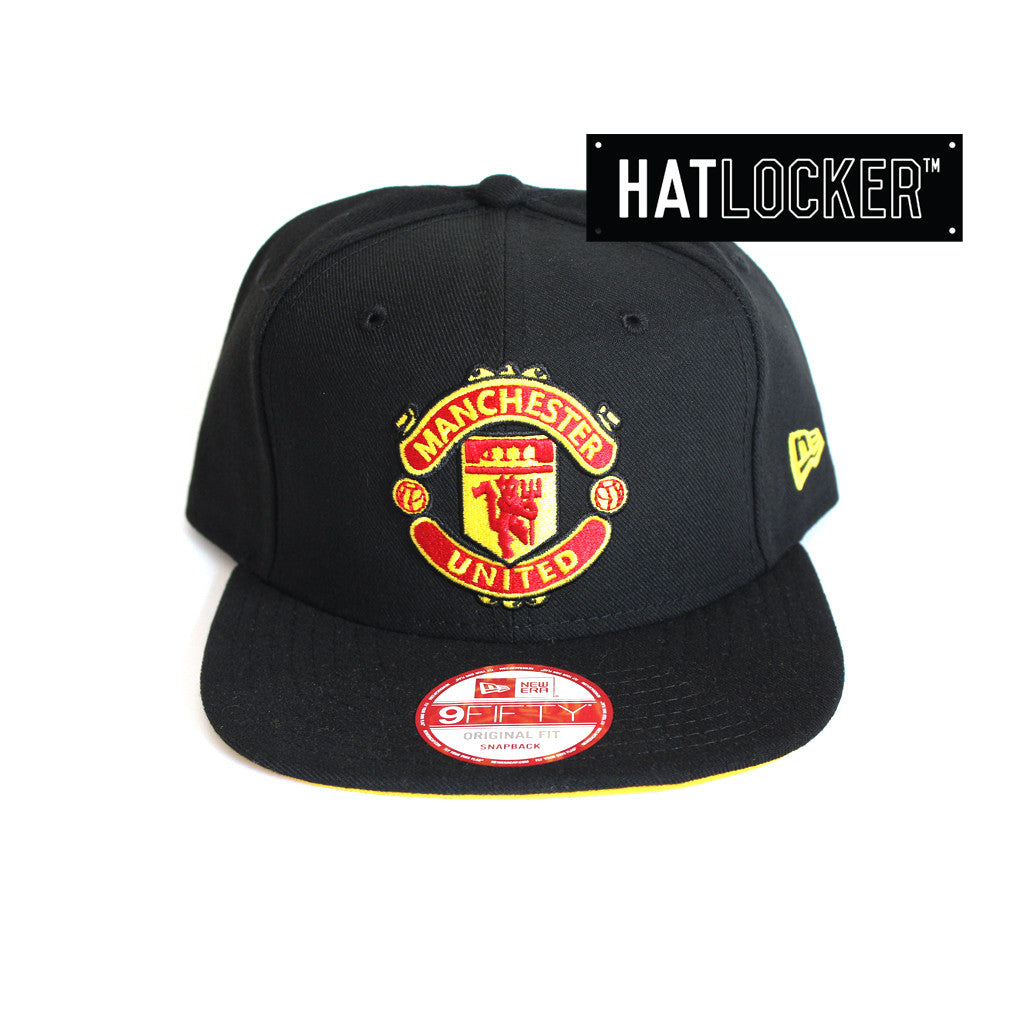 998082c40d572e New-Era-Manchester-United-FC-Black-Snapback thumbnail 5