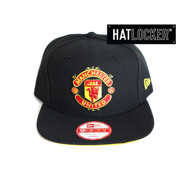 4a558aba5 New Era - Manchester United FC Black Snapback