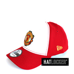 New Era - Manchester United FC White Red Stretch Fit