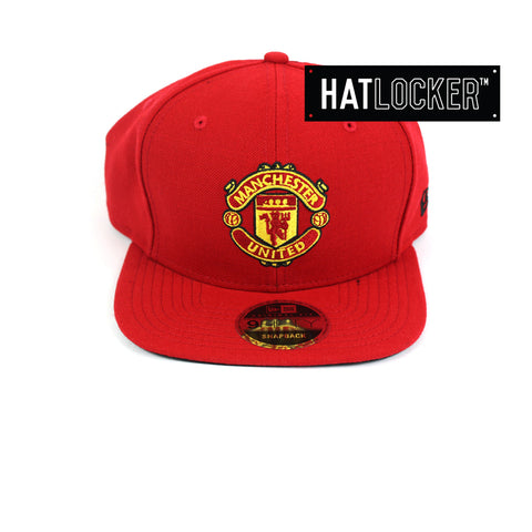 New Era Manchester United FC Team Home Jersey Snapback Front Hat Locker Australia