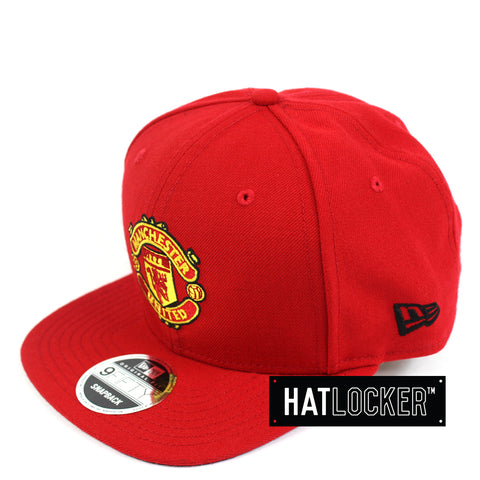 New Era Manchester United FC Team Home Jersey Snapback Side Hat Locker Australia