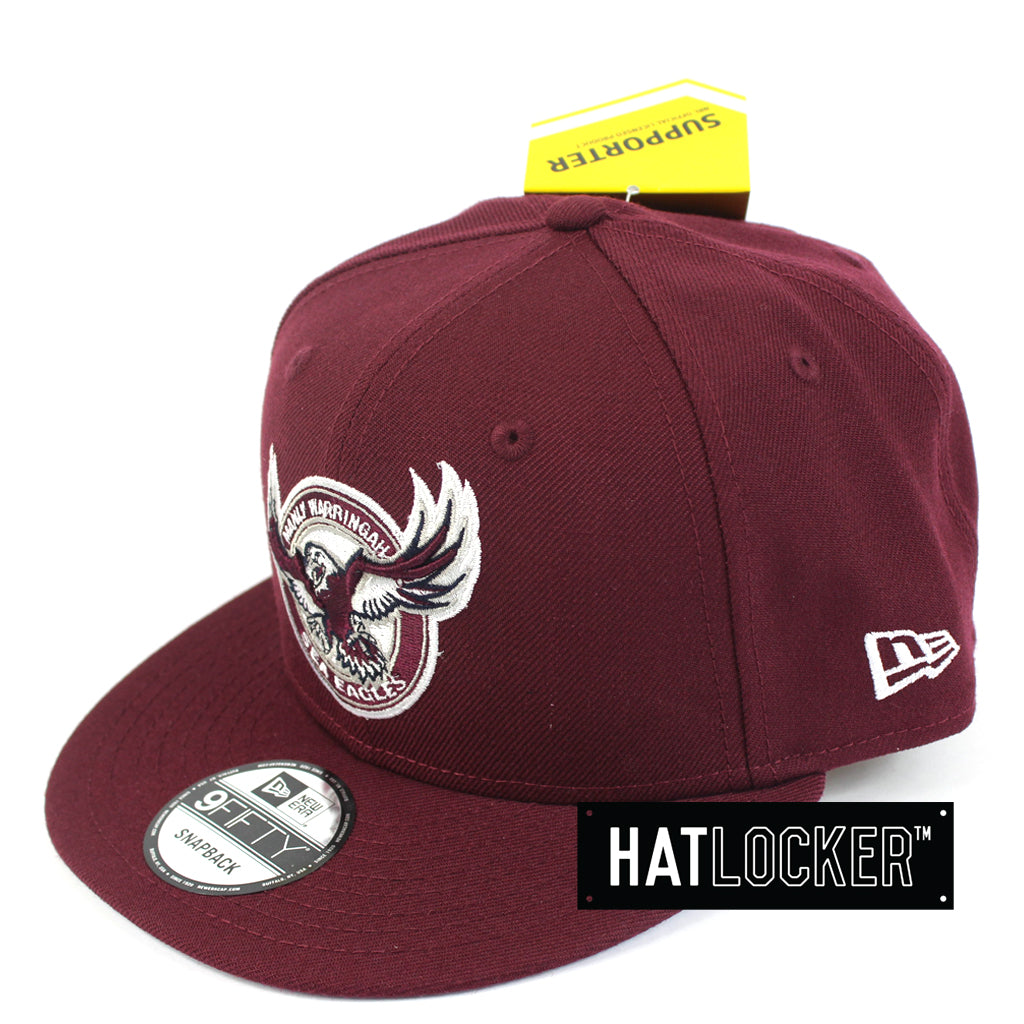 c54dcd630d3 ... coupon for hat locker australia new era nrl manly sea eagles core snapback  hat side c00f2