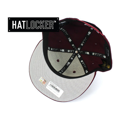 Hat Locker Australia New Era NRL Manly Sea Eagles Core Snapback Hat Under