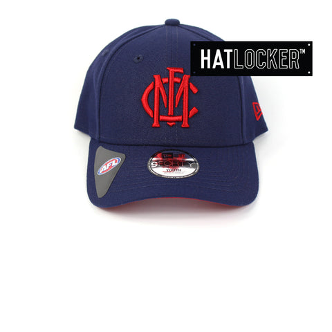 New Era Melbourne Demons 2019 Core Kids Curved Brim Hat