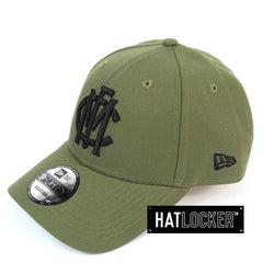 New Era Melbourne Demons 2020 Shadow Tech Olive Curved Snapback Hat