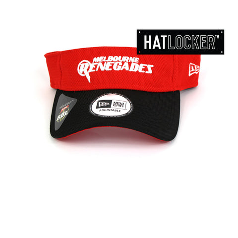 New Era Melbourne Renegades BBL 08 Visor Hat