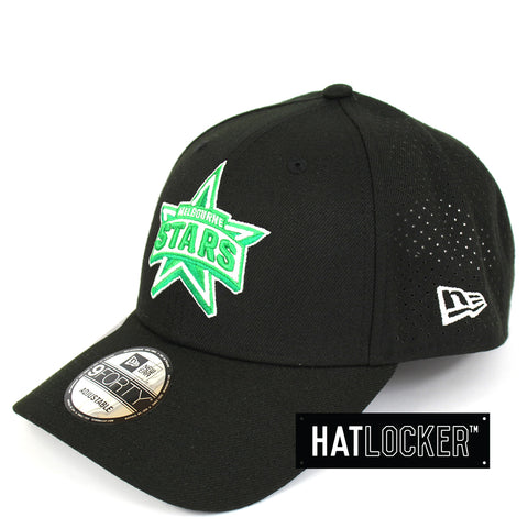 New Era Melbourne Stars BBL 08 Black Curved Brim Cap