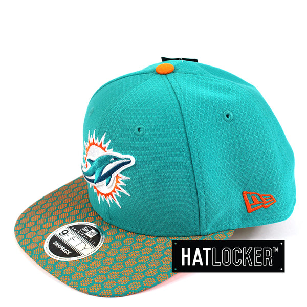 New Era - Miami Dolphins 2017 Official Sideline Snapback