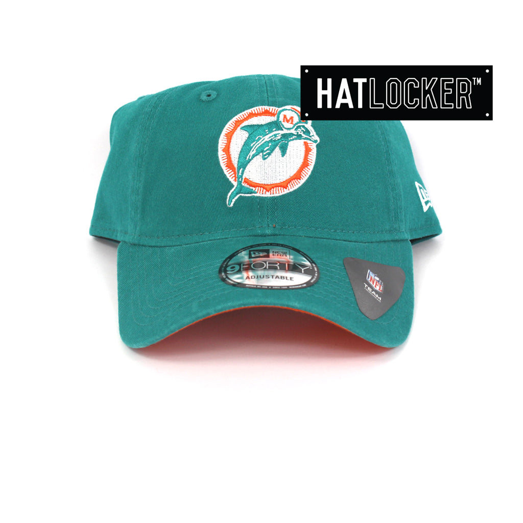 New Era Miami Dolphins Throwback Curved Brim Hat